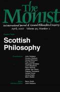 Scottish Philosophy