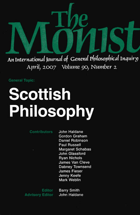 Scottish Philosophy